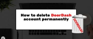 How to delete DoorDash account permanently