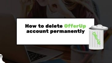 How to delete OfferUp account permanently
