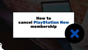 how to cancel playstation now membership