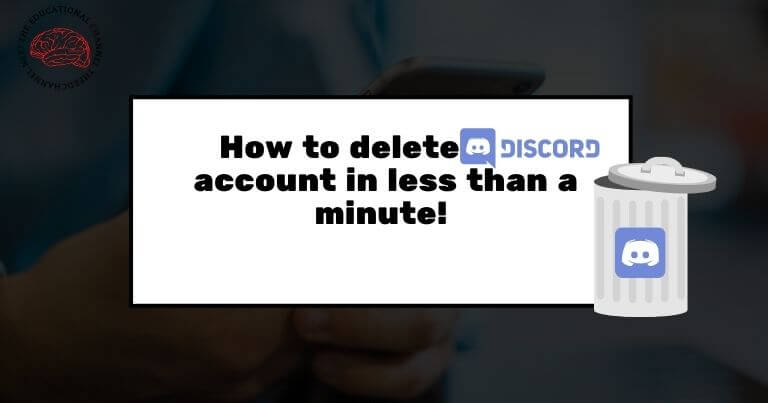 How to delete Discord account in less than a minute!