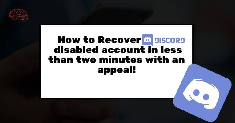 How to Recover discord disabled account in less than two minutes with an appeal!