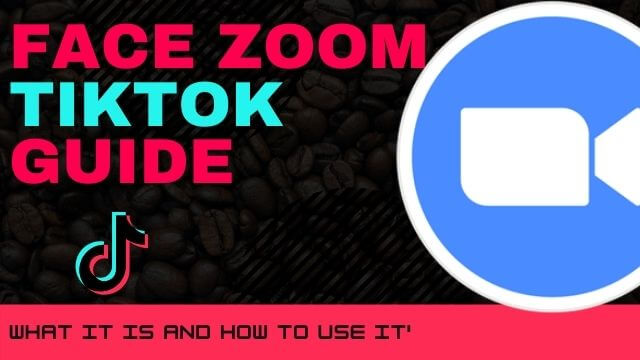 Face zoom tiktok guide. What it is and how to use this effect.