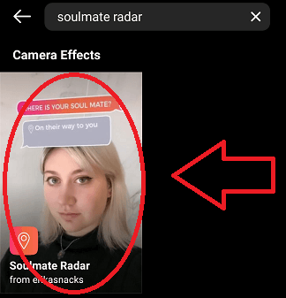 how to get soulmate filter on tiktok step 8