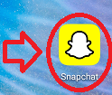 how to delete messages on snapchat step 1