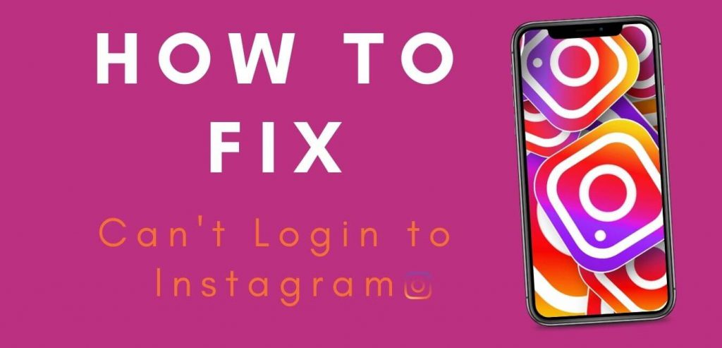 How to fix can't login to instagram