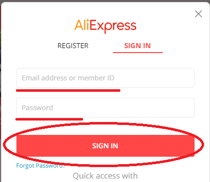 How to delete aliexpress account step 4
