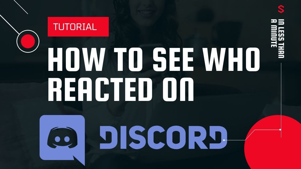 how to see who reacted on discord