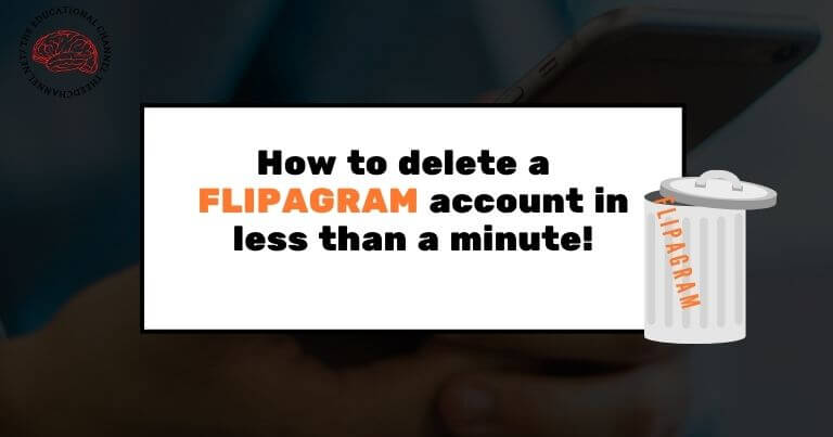 how do you delete a flipagram in less than a minute