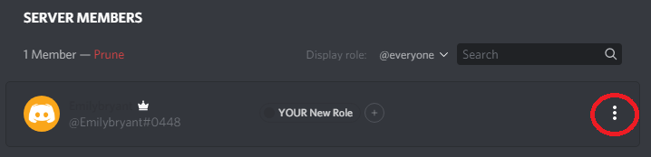 how to make your name invisible on discord step 11
