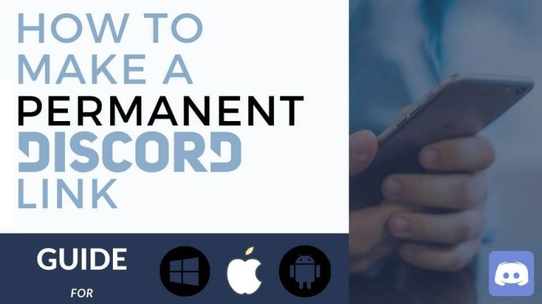 how to make a permanent discord link