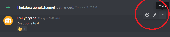 how to see who reacted on discord desktop app step 3