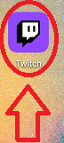 how to unblock someone on twitch app on mobile phone step 1