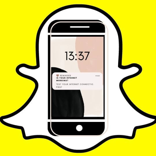 snapchatwaiting to send? If yes, have you tested your internet connection?