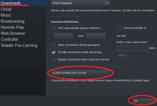 steam is being slow possible solution