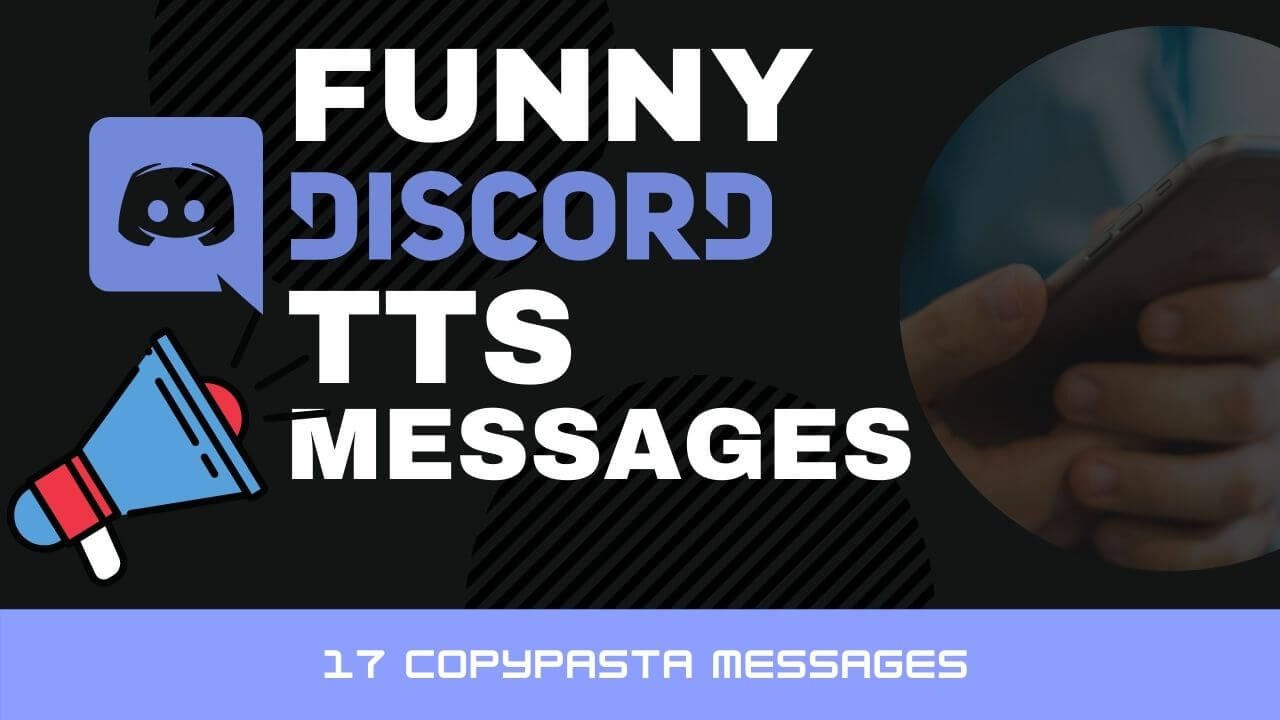 Best of Funny Discord TTS ( 17 Text to Speech Messages) ✅