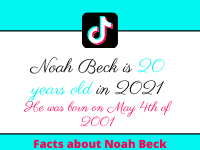 noah beck's age is 20 years old